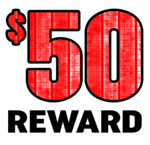 $50 Reward